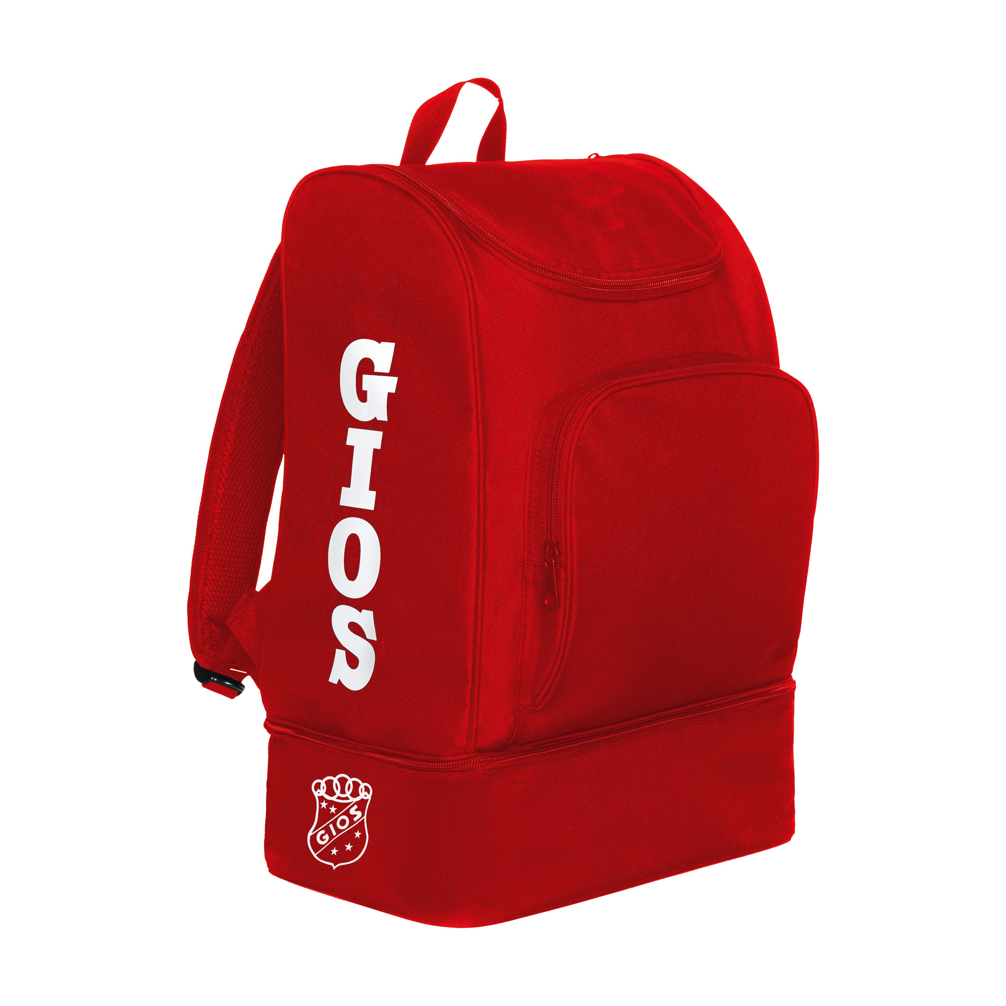 RUCKSACK WITH SHOE COMPARTIMENT / MOCHILA ZAPATILLERO RED