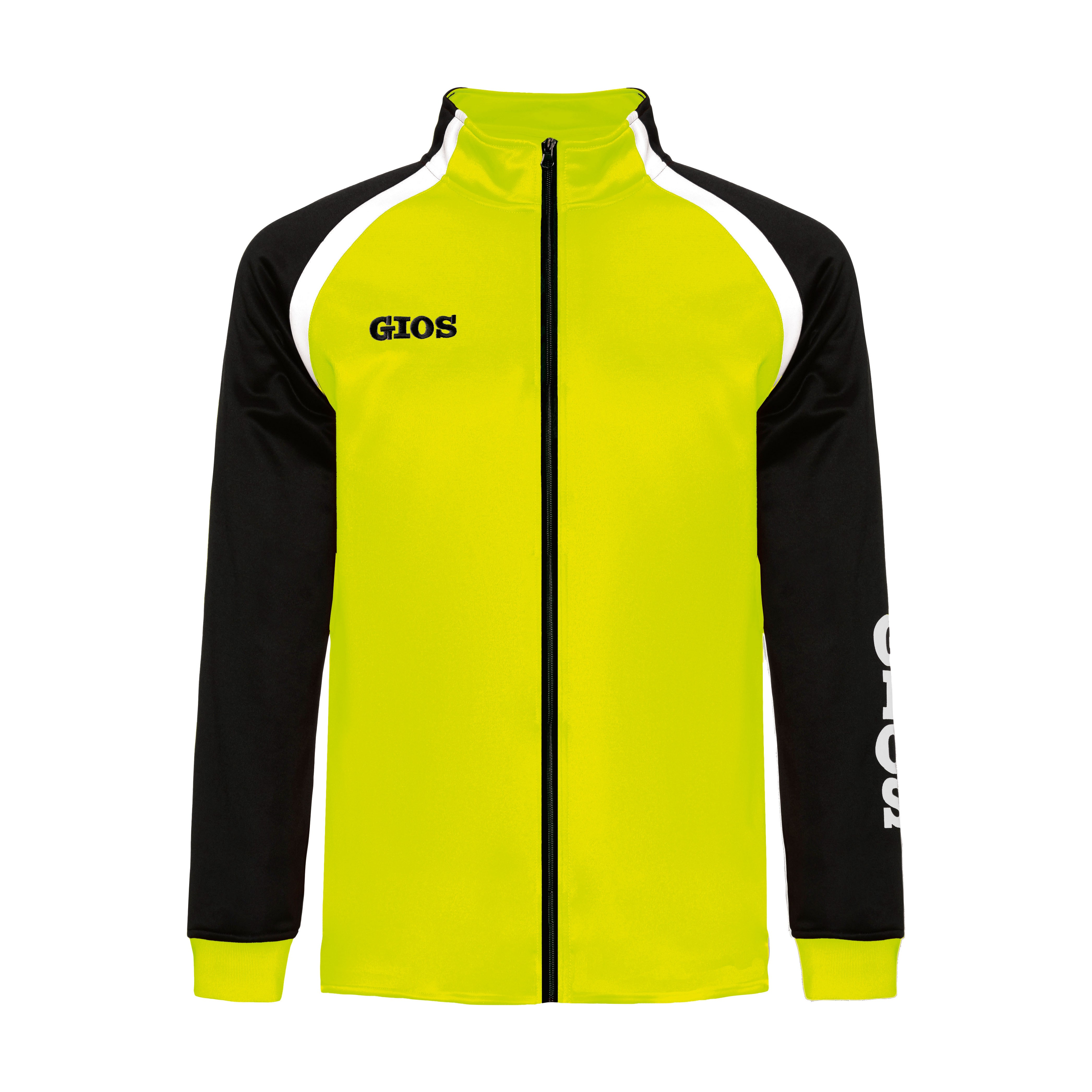 AIRONE TRACKSUIT JACKET / CHAQUETA CHÁNDAL AIRONE LIME/BLACK