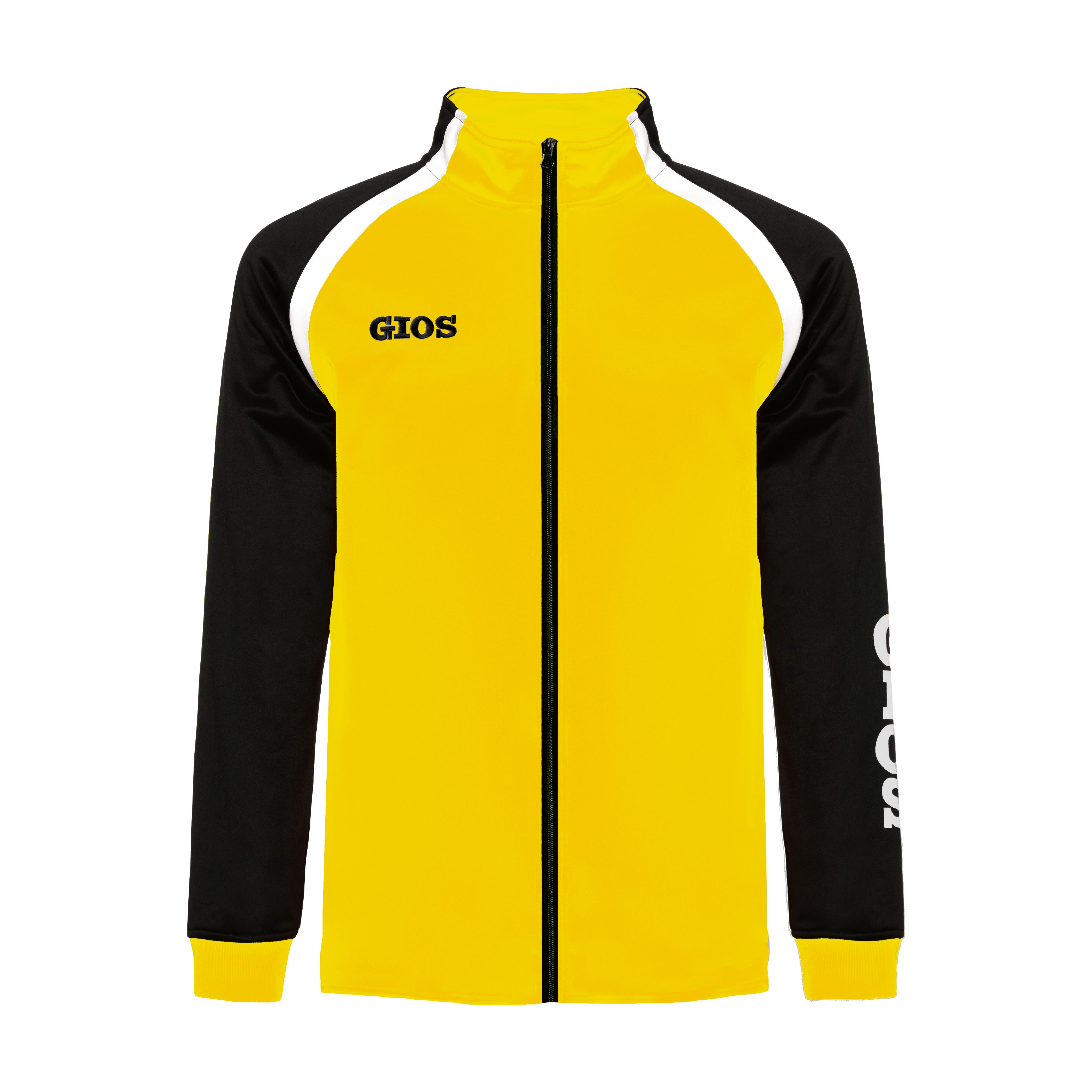 AIRONE TRACKSUIT JACKET / CHAQUETA CHÁNDAL AIRONE YELLOW/BLACK