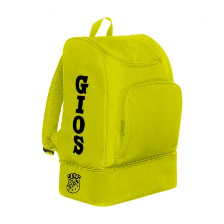 RUCKSACK WITH SHOE COMPARTMENT / MOCHILA ZAPATILLERO LIME