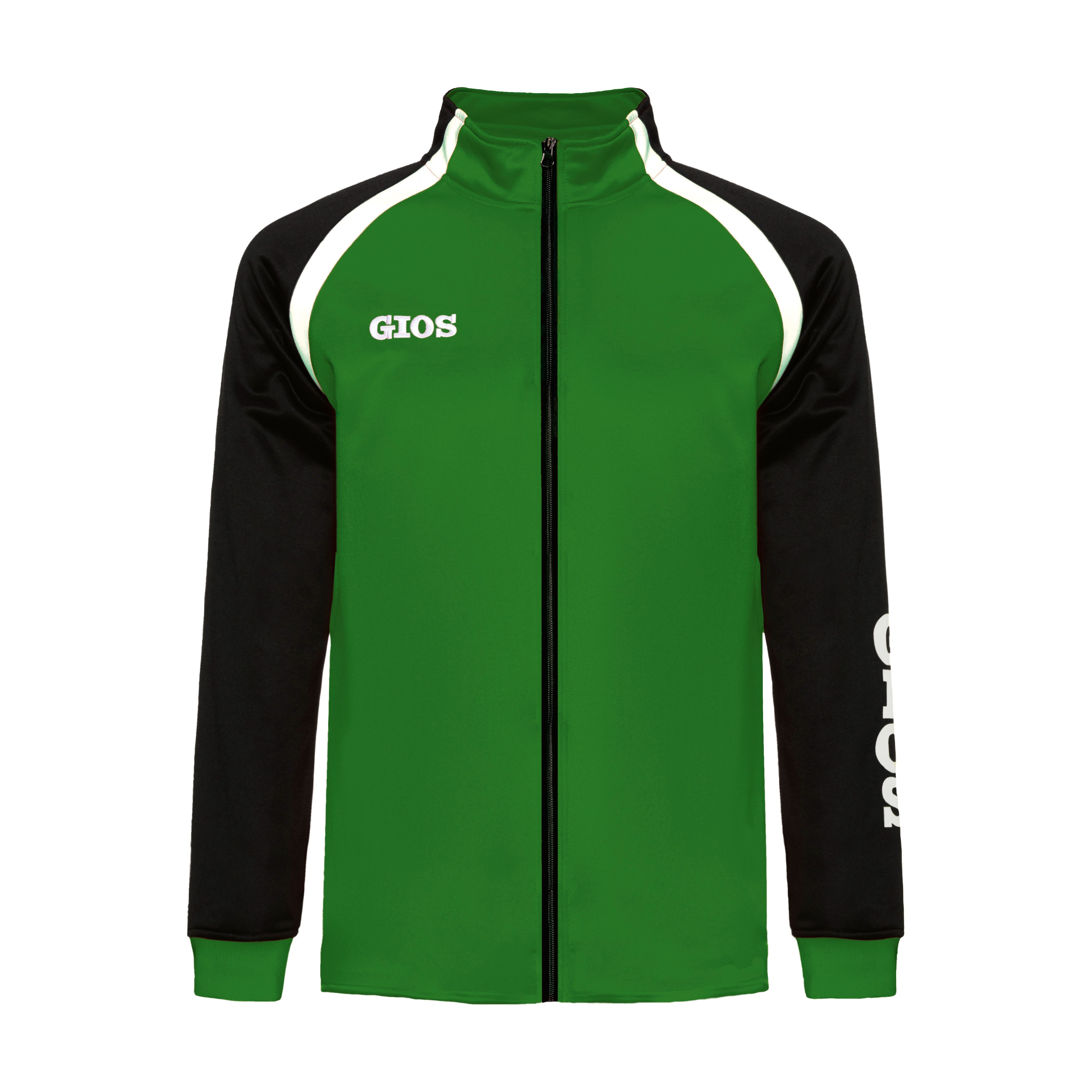 AIRONE TRACKSUIT JACKET / CHAQUETA CHÁNDAL AIRONE GREEN/BLACK