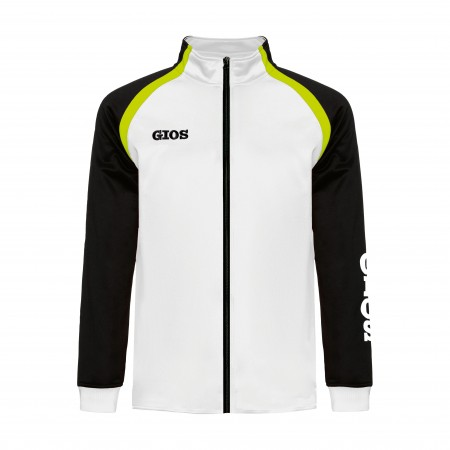 AIRONE TRACKSUIT JACKET / CHAQUETA CHÁNDAL AIRONE WHITE/BLACK
