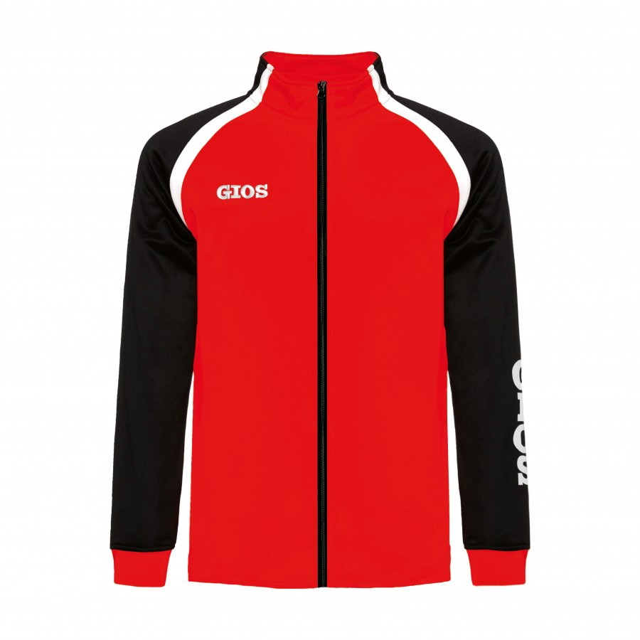 AIRONE TRACKSUIT JACKET / CHAQUETA CHÁNDAL AIRONE RED/BLACK
